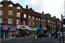 """TQ2487 : """"Cheapside"""": shopping parade on Golders Green Road by Christopher Hilton"""