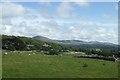 SH5729 : Field in Llanfair by DS Pugh