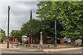 TQ1758 : Lower Ashtead Memorial Cross by Ian Capper