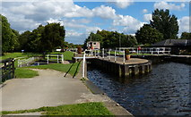 SE3629 : Woodlesford Lock No 5 on the Aire and Calder Navigation by Mat Fascione
