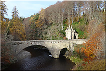 NJ1835 : Bridge of Avon by Anne Burgess