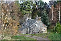 NJ1736 : Balnellan Cottage by Anne Burgess