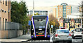 J3573 : Glider bus, Albertbridge Road, Belfast (November 2018) by Albert Bridge