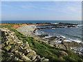 SX7835 : Langerstone Point by Hugh Venables