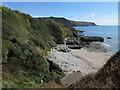 SX7936 : Woodcombe Sand by Hugh Venables