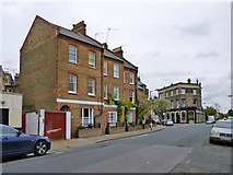 TQ2875 : Houses on Robertson Street, SW8 by Robin Webster