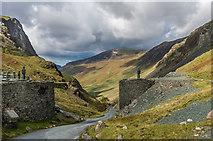 NY2213 : Honister Pass by Ian Capper
