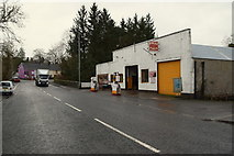H6357 : Finlay's Garage, Ballygawley by Kenneth  Allen