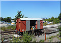 SP7902 : Restored Freight Wagon in Use by Des Blenkinsopp