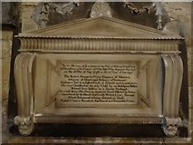 SO9422 : An unusual memorial in St Mary's church by Philip Halling