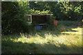 TQ3339 : Abandoned milk float, Effingham Park Golf Course by Derek Harper