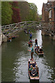 TL4458 : Punting on the Cam, from the Silver Street bridge by Christopher Hilton