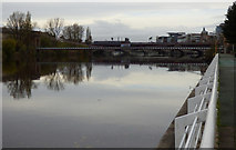 NS5964 : The River Clyde in Glasgow by Thomas Nugent
