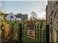NH8071 : Nigg Old Church and Graveyard by valenta