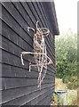 TQ4949 : Grasshopper Sculpture by John P Reeves