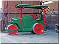 SK2625 : Claymills Victorian Pumping Station - road roller by Chris Allen