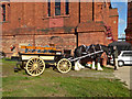 SK2625 : Claymills Victorian Pumping Station - one horse power vehicle by Chris Allen
