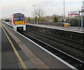 SS9079 : Transport for Wales train for Swansea leaves Bridgend station by Jaggery