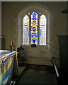 TL3042 : Litlington: St Catherine - USAAF commemorative window by John Sutton