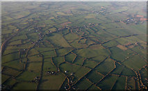 N9452 : Farmland near Leshamstown from the air by Thomas Nugent