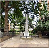 TQ3282 : William Blake's memorial in Bunhill Fields by Gerald England