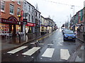 H4572 : A wet morning, Omagh by Kenneth  Allen