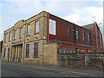 SD8912 : Masonic hall, Richard Street, Rochdale  by Stephen Craven
