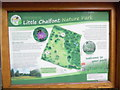 SU9997 : Information Board at entrance to Little Chalfont Nature Park by David Hillas