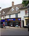 SP3509 : Nationwide Building Society, 13 Market Square, Witney, Oxon by P L Chadwick