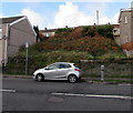 SS6696 : Waste ground above Neath Road, Plasmarl, Swansea by Jaggery