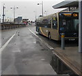 ST3188 : X24 bus in  Market Square bus station, Newport by Jaggery