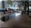 ST3088 : Queensway flood, Newport city centre by Jaggery