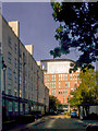 TQ2982 : Ossulston Estate with Crick Institute behind by SK53