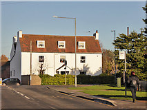 TM1422 : Large house on Thorpe Road, Weeley by Robin Webster