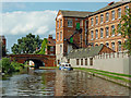SK5420 : Grand Union Canal in Loughborough, Leicestershire by Roger  Kidd