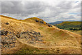 SO4795 : Caer Caradoc Hill Fort by Jeff Buck