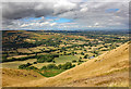 SO4795 : View from Caer Caradoc Hill by Jeff Buck