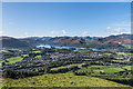 NY2724 : Keswick and Derwent Water from Latrigg by Ian Capper