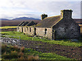 ND1332 : The ruined croft house at Loedebest : Week 48