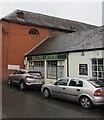 SO0428 : Beacons Laundry, St Mary Street, Brecon by Jaggery