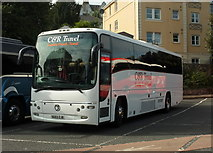 SX9164 : Coach, Torquay coach station by Derek Harper