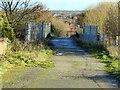 SK4451 : Station Lane, Codnor Park by Alan Murray-Rust