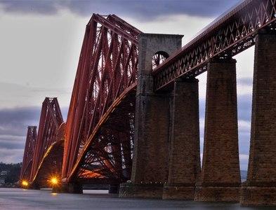 NT1378 : Forth Bridge by John Winder