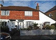 TQ2037 : Cottages on High Street, Rusper by David Howard