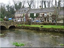 SP1106 : The Swan Hotel, Bibury by Philip Halling