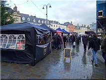 SP0202 : Market Place in Cirencester by Philip Halling