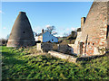 NY9965 : Bottle kilns at disused pottery by Trevor Littlewood