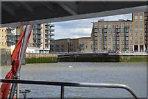 TQ3680 : View from a Thames Clipper by N Chadwick