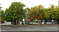 ST8978 : Leigh Delamere Services car park by Derek Harper