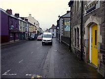 H4472 : Yellow door along John Street, Omagh by Kenneth  Allen